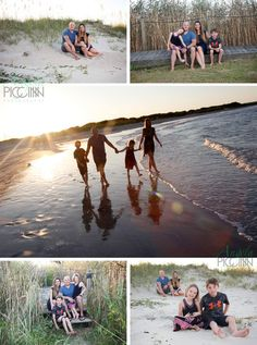 Topsail Beach Summer Family Photos at Sunset  - Photography by Angela Piccinin - Wilmington NC Wedding and Family Portrait Photographer