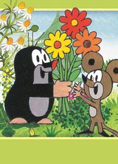Der kleine Maulwurf kommt als Partydeko freudestrahlend zum ersten Geburtstag Disney Tattoos, Cartoon Characters, Fictional Characters, Kindergarten, Childhood, Snoopy, Mandala, Kids Rugs, Embroidery