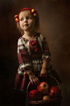 Beautiful little Ukrainian girl