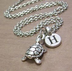Hey, I found this really awesome Etsy listing at https://www.etsy.com/listing/129818131/turtle-charm-necklace-personalized