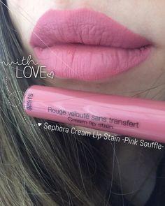 Sephora Lip Cream Stain Pink Souffle