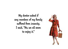 """Quirky Quotes by VintageJennie at Etsy.com   """"Insanity Envy"""""""