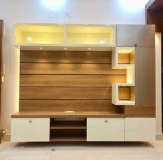 Tv Cabinet Design Modern, Modern Tv Unit Designs, Living Room Tv Unit Designs, Wall Unit Designs, Cupboard Design, Modern Design, Modern Tv Room, Modern Tv Wall Units, Modern Living
