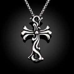 Aliexpress.com : Buy Rock Vintage Punk Jewelry Carving Cross Necklace Stainless Steel Unisex Collier for Women and Men Party Gift from Reliable Pendant Necklaces suppliers on ModaOne Jewellery Store