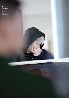 Baekhyun - 151211 Nanjing Airport, arrival from Incheon Credit: Mr.