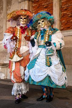 Carnivale mask & costume ~ 23903 - ID: 13735718 © Jim  Zuckerman