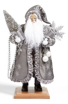 Lynn Haney 'Silver Visions' Santa Figurine available at #Nordstrom