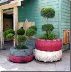 tire upcycle:)