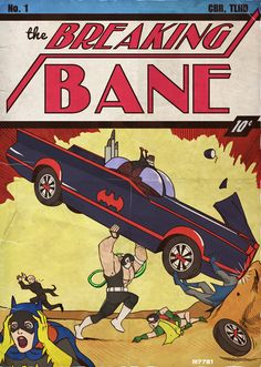So much is funny about this to me.  Is BW really taking a car to the face?  omg wtf Robin?  Wth is Alfred doing randomly running around?  Foreground Batgirl is amazing.