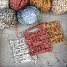 Yarns, Crochet Stitches, Crocheting, Knit Crochet, Things To Come, Tutorials, Wool, Knitting, Board