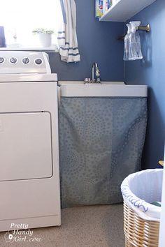 skirt for utility sink