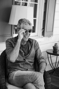 We were delighted to host chef/television personality Anthony Bourdain at Zero George while he was in Charleston, SC filming for his show. Anthony Bordain, What's Your Style, Muscular Men, Charleston, Parts Unknown, Abs, Black And White, American, Badass