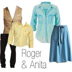 Roger & Anita -- 101 Dalmatians