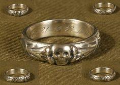 German ww2 Honor ring Death Head 1942 - $99.99 #onselz