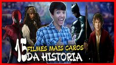Os 15 FILMES MAIS CAROS DA HISTORIA