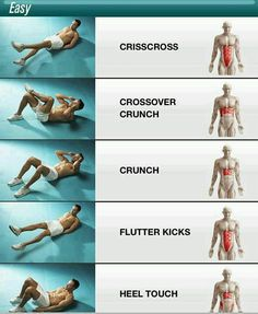 Easy Ab workout!