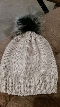 Ravelry  Simple Worsted Hat pattern by Julie Conway Shawls And Wraps 2a5800ac40a4