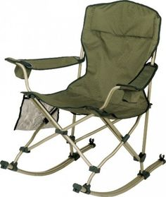 Quest Quad Rocker Chair Portable Rocking Chair With Cup Holders I D Rather Be