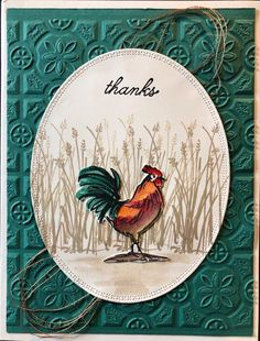 stampin up home to roost Home To Roost, Farm Quilt, Birthday Cards For Men, Male Birthday, Stamping Up Cards, Rubber Stamping, Bird Cards, Fathers Day Cards, Scrapbook Paper Crafts