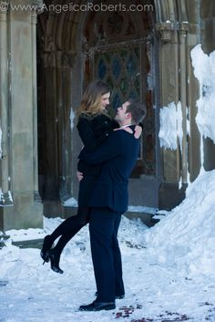 #Central Park #engagement #photography #New York City #NYC #couple #winter #snow Photo by Angelica Roberts Photography copyright www.AngelicaRoberts.com