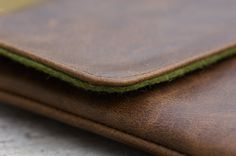 Handmade iPad Leather Sleeve / Case  The Hand Flattering Edition    #ipad   #ipad 2  #ipad 3  the new ipad    #leather #sleeve