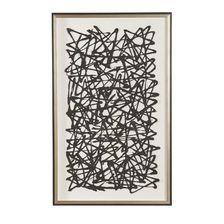 $647 - Black Paper Art
