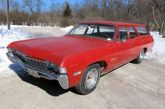 1968 Chevrolet Biscayne: Fire Wagon - http://barnfinds.com/1968-chevrolet-biscayne-fire-wagon/