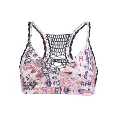 Crochette Back Fashion - Bikini Oberteil