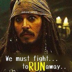 Captain Jack Sparrow logic