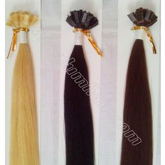 Buy high quality 100% Remy human hair keratin Extensions,I,U,V,Flat tipped hair extensions in over 20 colors, from 10-28 inches. Order Now