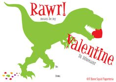 Our oh so cute Dinosaur Valentine Cards are perfect for the little Dino lover in your life. Comes with five different Dinosaur designs. This is a
