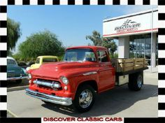 1957 chevy 4400 truck | 1957 Chevrolet Flatbed $17,888
