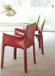 Cab 412 & 413 chair by Mario Bellini for Cassina www.cassina.com
