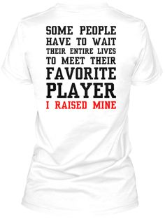 Support your football player this fall! You know it's true.