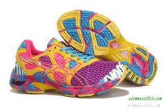 newest 16f13 27aa3 Latest Listing Discount Womens Asics Gel Noosa TRI 7 Purple Yellow Chlorine  Blue Cherry Pink Your Best Choice