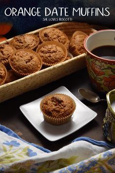 Whole Grain Orange Date Muffins: An easy muffin recipe that is also so healthy.Easy Whole Grain Orange Date Muffins: An easy muffin recipe that is also so healthy. Healthy Bread Recipes, Healthy Muffins, Healthy Baking, Real Food Recipes, Healthy Food, Date Muffins, Bran Muffins, Biscuits, Recipes