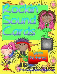 Rockin� Sound Cards with Pictures from School Safari on TeachersNotebook.com -  (15 pages)  - These cards are a great tool for phonics instruction. They serve as reminders for students learning to read.