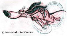 Sketches memoráveis de Mark Christiansen | THECAB - The Concept Art Blog