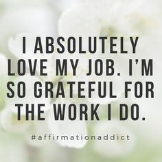 TIP if you're trying to manifest A NEW JOB 💻 Do you hate your job? Or are you just at your job because it pays the bill Love Your Job Quotes, New Job Quotes, Career Quotes, Nurse Quotes, Work Quotes, Career Affirmations, Positive Affirmations, Prayer For A Job, Hate My Job