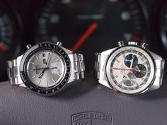 Zenith vs Seiko ... Both vintage watches have a historical,significance: the first automatic chronograph wristwatches! (Along with Heuer/Hamilton/Breitling)
