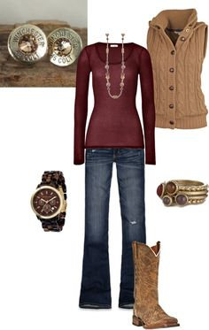 """A day in the country"" by kaybraden on Polyvore"
