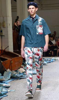 Antonio Marras Spring/Summer 2016 Menswear Collection - Milan Fashion Week - http://olschis-world.de/  #AntonioMarras #MMFW #Menswear