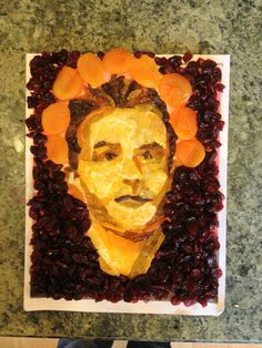 Chris Hardwick fruitface #gishwhes nerdist craftyness.