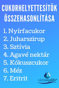 Tiszta étkezés - Édesítőszerek összehasonlítása – a 7 legjobb cukorhelyettesítő Diabetic Recipes, Diet Recipes, Healthy Recipes, Smoothie Fruit, Online Sweepstakes, Gaps Diet, Healthy Food Options, Food Labels, Flat Tummy