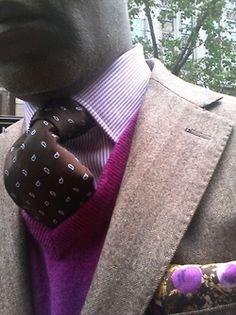 Real men wear pink #bGgentlemanstyle Click here to subscribe: www.babyGent.com