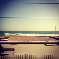 Mediterranean Sea from the train in Spain