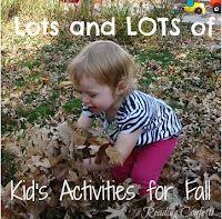 TONS of fall activity ideas for kids