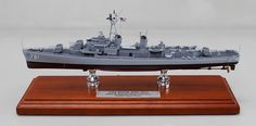 A recently completed 12 inch model of an Allen Sumner Class US Navy Destroyer USS Buck - DD-761