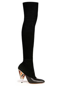 Givenchy Cuissardes en veau velours