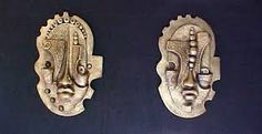 african masks paintings - Google Search